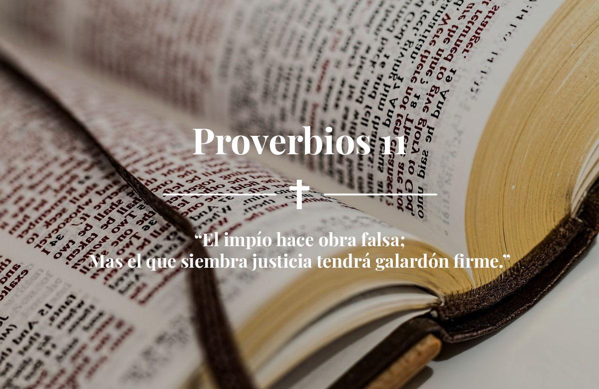 Proverbios 11