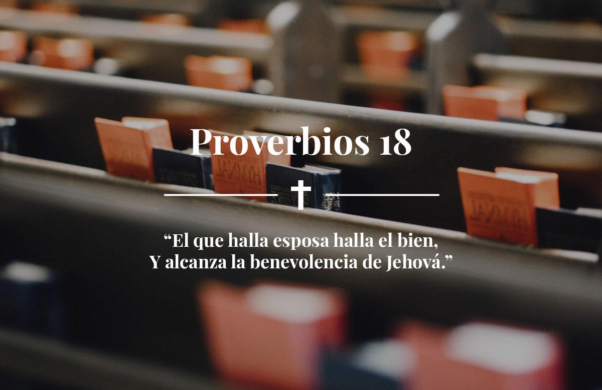 Proverbios 18