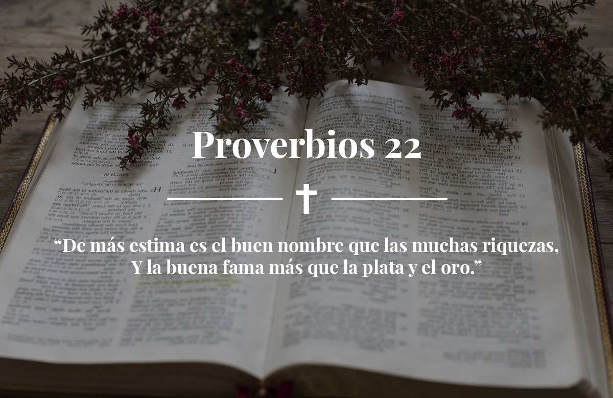 Proverbios 22