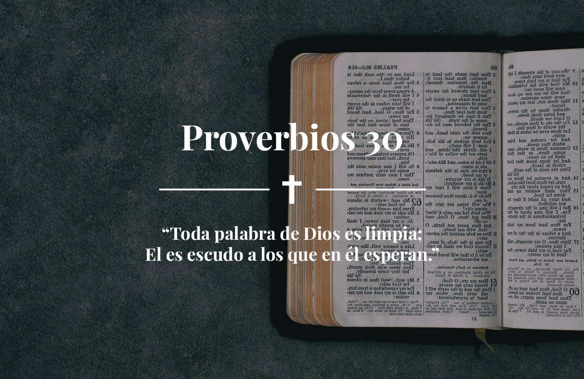 Proverbios 30